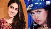 Sara Ali Khan reacts on reprising Karisma Kapoor's role in Coolie No 1