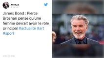 James Bond : Pierce Brosnan demande aux «gars de laisser la place à une femme»