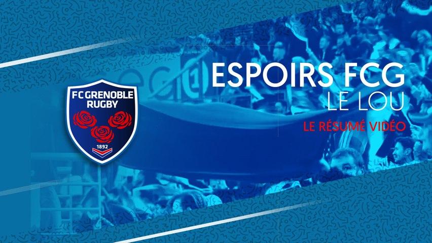 Video : Video - Match prépa FCG U21 - LOU U21 : le résumé vidéo