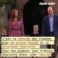 La princesse Charlotte et le prince George font leur rentrée