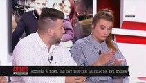 """Louna: En larmes sur le plateau de """"Crimes"""" ce midi sur NRJ12 , les vrais héros du téléfilm de TF1 hier soir racontent leur histoire"""