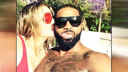 Tristan Thompson Tried To KISS Khloe Kardashian At True's Birthday Party!