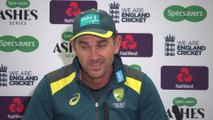 Australia coach Justin Langer pre final Ashes Test