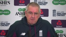 England coach Trevor Bayliss pre final Ashes Test