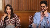Ayushmann Khurrana & Nushrat Bharucha talk about Dream Girl; Watch  video | FilmiBeat