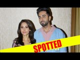 Ayushmann Khurrana and Nushrat Bharucha spotted together for movie Dream Girl