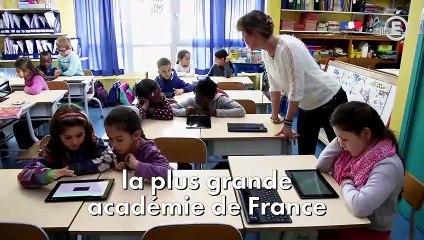 Bienvenue dans l'académie de Versailles