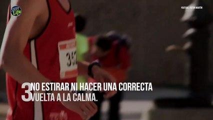 Los 10 errores del corredor popular a la hora de entrenar