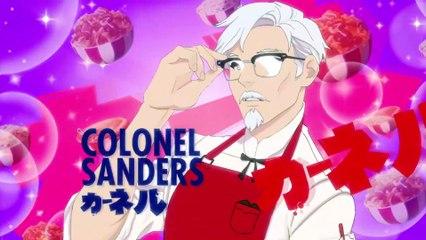 I Love You Colonel Sanders A Finger Lickin Good Dating Simulator : Trailer du jeu KFC