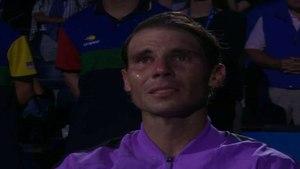 El vídeo que hizo llorar a Nadal tras ganar el US Open