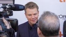 Matt Damon at 'Ford v. Ferrari' Premiere at TIFF