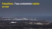 Fukushima : l'eau contaminée rejetée en mer