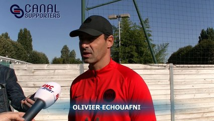 PSG: le point presse d'Echouafni