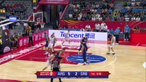 BASKETBALL: FIBA World Cup: Argentina 97-87 Serbia