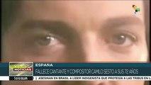 España: fallece a los 72 años el cantante y compositor Camilo Sesto