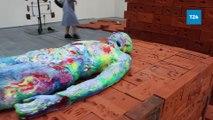 16. İstanbul Bienali başlıyor; tema devasa plastik atık yığını 'Yedinci Kıta'