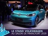Le stand Volkswagen en direct du salon de Francfort 2019