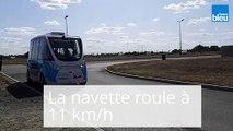 La_navette autonome a été présentée à Châteauroux