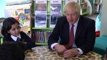 Don't get drunk at university, PM tells schoolchildren
