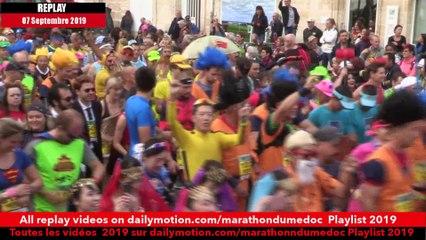 Replay Marathon du Médoc 2019 - Départ2/Starting line 2