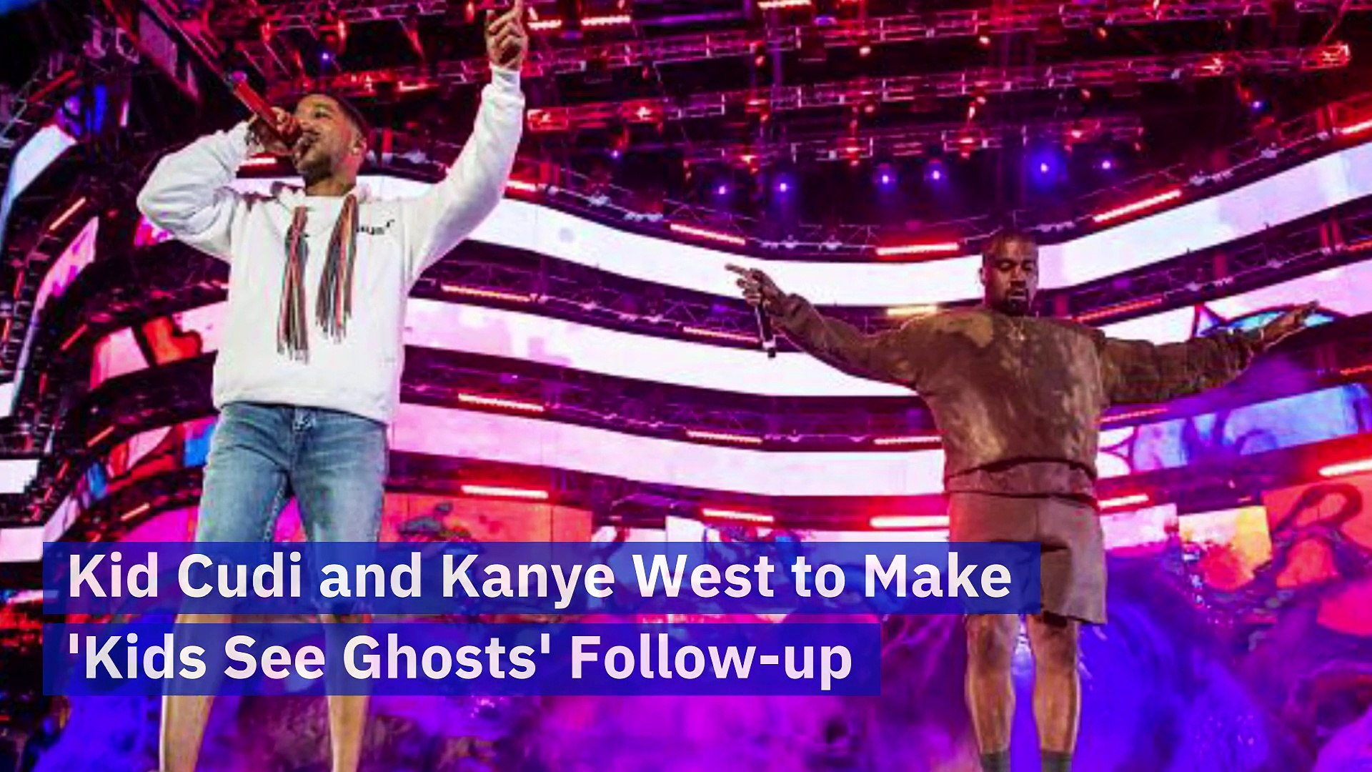 Kid Cudi And Kanye West To Make Kids See Ghosts Follow Up