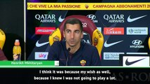 I cannot say why Arsenal let me go - Mkhitaryan