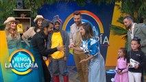 ¡Se unieron a los equipos del Sin Palabras Eugenio Derbez e Isabel Moner! | Venga La Alegría