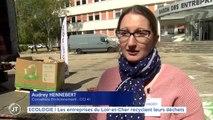 ECOLOGIE Les entreprises du Loir et Cher recyclent leurs déchets