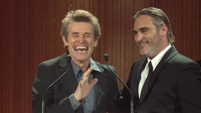 Willem Dafoe Introduces Joaquin Phoenix at the TIFF Tribute Gala