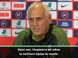 "Kosovo - Challandes : ""L'Angleterre, la meilleure équipe du monde"""