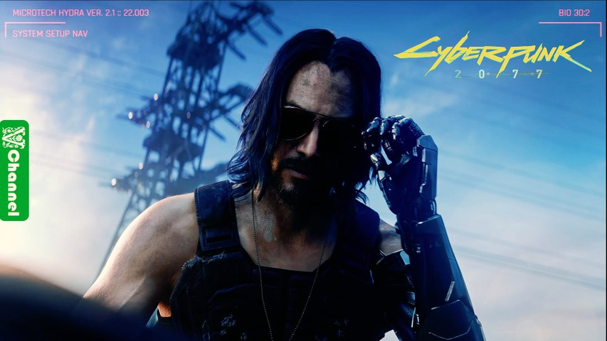 Cyberpunk 2077 - E3 2019 Trailer Song (Johnny Silverhand -Chippin' In by SAMURAI Refused)