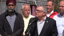 Federal cabinet ministers offer support for Dorian recovery efforts in the Maritimes