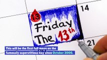 A Harvest Moon Will Appear on Friday the 13th