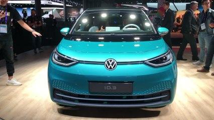 Volkswagen ID.3 : notre vidéo au Salon de Francfort