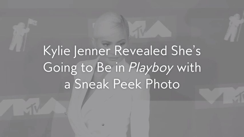 Kylie Jenner Revealed She's Going to Be inPlayboywith a Sneak Peek Photo