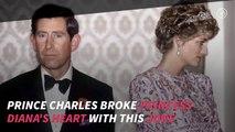 Prince Charles: He Broke Princess Diana's Heart With THIS Joke