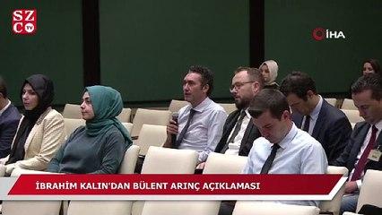 İbrahim Kalın'dan Arınç'a Ahmet Türk yanıtı!