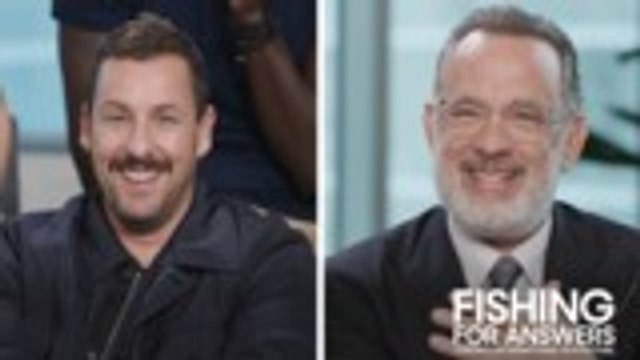 """Adam Sandler is """"Scared"""" to Rob a Bank; Tom Hanks """"Would Be Very Charming About It"""" 