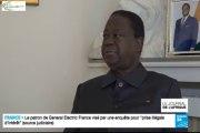 """Henri Konan Bédié sur France 24:  """" Toute modification de l'âge limite pour les présidentielles serait un tripatouillage de la constitution...et une grave menace pour la stabilité du pays"""""""