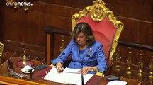 Feu vert du sénat au gouvernement de Conte