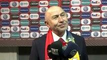 Türkiye maçının ardından - Türkiye Futbol Federasyonu Başkanı Özdemir