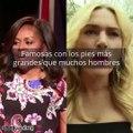 Paris Hilton, Kate Winslet y otras famosas con los pies más grandes que muchos hombres