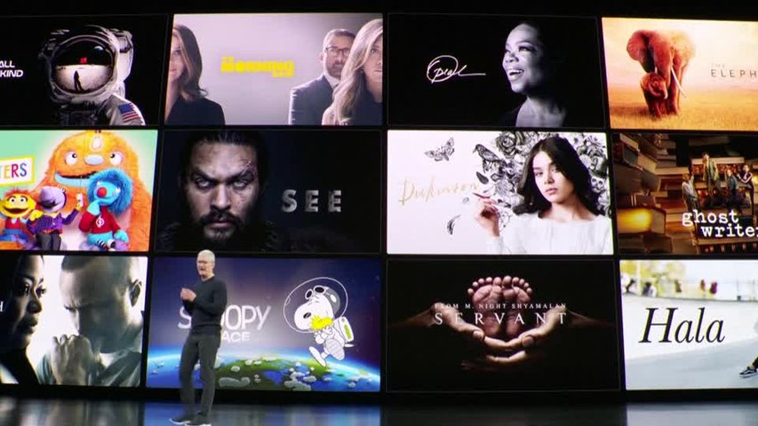 Apple heats up streaming war with $5 TV service