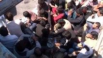 - Kamyon kasasında koyun yerine 61 kaçak göçmen çıktı