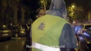 Justifican en Cataluna q salen por la noche con las antorcha