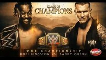 WWE CLASH OF CHAMPIONS 2019 - KOFI KINGSTON(c) VS RANDY ORTON - WWE CHAMPIONSHIP - FULL MATCH