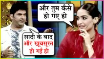 Kapil Sharma FUNNY MOMENTS With Sonam Kapoor & Dulquer Salmaan | The Kapil Sharma Show | Zoya Factor