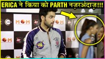 Erica Fernandes IGNORES Parth Samthaan At Mission Over Mars M.O.M Screening