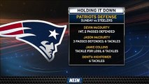 Patriots' Defense Was Smothering In Big Week 1 Victory Over Steelers