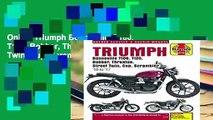 Online Triumph Bonneville, T100, T120, Bobber, Thruxton, Street Twin, Cup, Scrambler Service